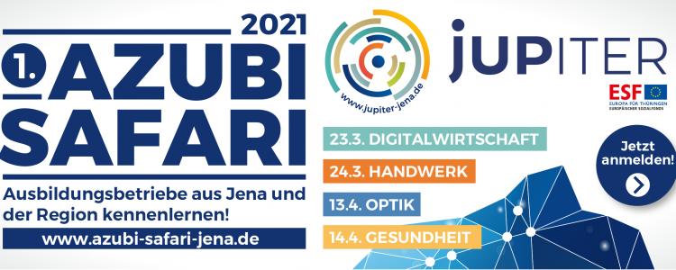 Banner Azubi Safari 2021